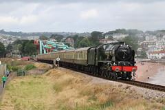 46100 'Royal Scot' | Torbay Express | Goorington Bank (Jacob Tyne) Tags: 46100 royal scot torbay express vintage heritage locomotive steam charter railtour goodrington bank