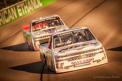 DSC_5985 (Oskaloosa News) Tags: world camping chevrolet car sport june racecar truck casey outdoor weekend wide smith iowa racing chevy nascar vehicle opening trucks autoracing 18 silverado speedway 2016 niemco