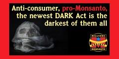 millions against monSATAN (tomwoods47) Tags: dark 1st or thank your vote rt act senate spank senators pls labelgmos httporgcnsorg298ayjc nodarkact