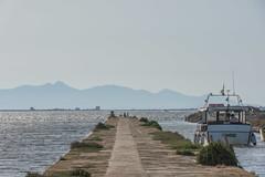DSC_6006 (Pasquesius) Tags: sea ferry island boat dock barca mare lagoon sicily laguna saline molo sicilia saltponds isola marsala mozia mothia stagnone motya riservanaturaledellostagnone