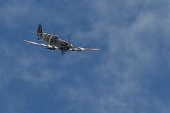 BBMF Spitfire AB910 (John Ambler) Tags: battle britain memorial flight supermarine spitfire ab910 mk vb royal navy air station yeovilton international day 2016 john ambler johnambler aviation photographer photographs
