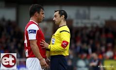 Sligo Rovers V St Patricks Athletic (ExtratimePhotos) Tags: neil doyle ref