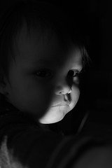 DSC_7027 (SeanHarperT) Tags: able blackandwhite flash monochrome people portrait baby parent