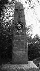 old graveyard, Loch Leven 012 (byronv2) Tags: blackandwhite bw history monochrome cemetery graveyard scotland blackwhite perthshire literature gravestone writer robertburns author boneyard kinross lochleven boneorchard
