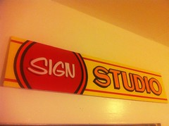 SIGN STUDIO (manningSigns) Tags: signs art sign austin studio design diy texas handpainted letter handpaint oneshot signpainting signpainter 1shot uploaded:by=flickrmobile flickriosapp:filter=chameleon chameleonfilter