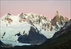 Cerro Torre At Twilight (Waldemar*) Tags: sky patagonia santacruz mountain mountains southamerica argentina twilight nikon purple magenta peak glacier andes peaks parquenacional losglaciares elchalten cerrotorre d7000 thepowerofnow afs24120mmf4gvr