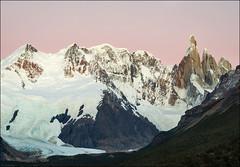 Cerro Torre At Twilight (Waldemar*) Tags: sky patagonia santacruz mountain mountains southamerica argentina twilight nikon purple magenta peak glacier andes peaks parquenacional losglaciares elchalten cerrotorre d7000 ☆thepowerofnow☆ afs24120mmf4gvr