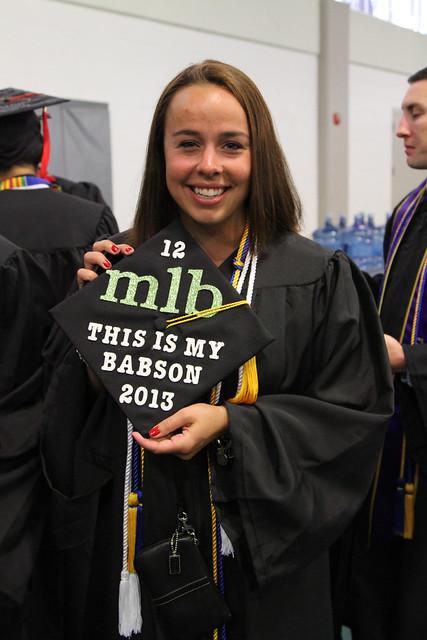 Babson Undergraduate Commencement 2013