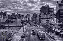 View from the Highline   17th Street- (Tattooed JJ) Tags: nyc ny photography pentax manhattan april highline k5 singingwithlight singingwithlightphotography aprilhighlinek5nynycsingingwithlightmanhattanpentaxphotographysingingwithlightphotography