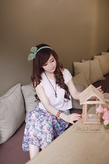 Sophie Le (Mac Vincente |  ) Tags: portrait cute girl fashion canon pastel vietnam korean lovely macphotography macluckystar macfotographer