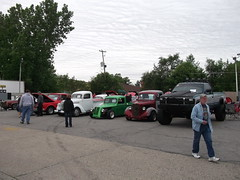 General view of the show (cjp02) Tags: show road hot classic car bike truck vintage rat long lafayette teal indiana motorcycle rod preserved veteran johns aw