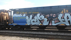 Tower (Espestosis) Tags: tower graffiti alberta graff hopper freight fr8 takewhatsyours