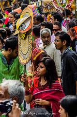 misfit in a mob...  (coloured) (Fayek Tasneem Khan) Tags: life beautiful nikon capital dhaka bangladesh d5100