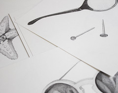 Herr Menig Optik - Sketches (Philipp Zurmoehle) Tags: white black illustration pencil paper grey sketch artwork drawing illustrations drawings sketches artworks handdrawing optician handdrawn optics optik herrmenig