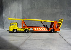 Matchbox Toys Super Kings DAF Car Transporter No. K11 1971 - 4 Of 10 (Kelvin64) Tags: car toys 1971 no super kings matchbox transporter daf k11