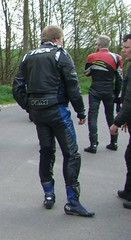 smoking biker june 2013 (19) (skintightj2009) Tags: leather cigarette smoking biker smoker