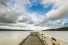 Cloud break (Nick Twyford) Tags: longexposure newzealand clouds nikon wideangle auckland wharf northisland westcoast afternoonlight waikatoriver portwaikato colourimage leefilters 1024mm d7000 lee09nd lee06gndhard