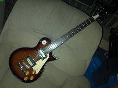 Les Paul style solid 1b (LoxPix) Tags: kent bass guitar workinprogress rick mandolin fender beatle crown custom gibson squire hofner epiphone fernandes teisco bowhunter