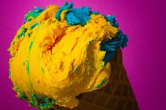 DSC_4206.jpg (largestartist) Tags: pink yellow cone icecream faux strobist