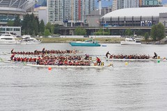 """FCRCC HP wins ConcordPacific Competitive """"A"""" 500-metre final (race #100), Vancouver (fotoeins) Tags: sky people urban cloud canada water festival vancouver canon geotagged eos grey boat dragon britishcolumbia riotinto overcast falsecreek dragonboat alcan sponsor array xsi eos450d henrylee canonef70300mmf456isusm onewest 450d fotoeins geo:lat=4927223 riotintoalcandragonboatfestival henrylflee geo:lon=123104636 fcrcchp kaiikaika cibcimperialdragons fotoeinscom"""