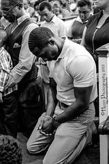 Powerful (Henri Photography) Tags: man black male men kneel prayer africanamerican kneeling sda seventhdayadventist henriphotography atlantabereanchurch