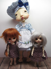 She is a giant in the dollhouse (lovetherain-gina) Tags: ball doll bjd kane humpty estelle jointed nefer lovetherain