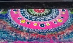 Rangoli (janakchauhan) Tags: rangoli leicesterbelgravemela