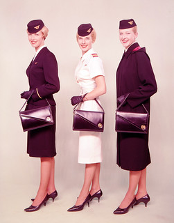 Air Hostess Uniform 1959 Summer and Winter 001