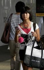 Shibuya, Tokyo. (P8280181b) (mr_nihei) Tags: girl beauty japan tokyo shibuya
