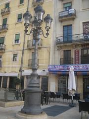 Tarragona - Plaza de la font (pakovalera) Tags: españa roma nova puerto spain monumento playa romano rey vista museo turismo barrio tarragona rambla aerea tarraco circoromano castillorey