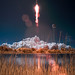 Antares Rocket With Cygnus Spacecraft Launches