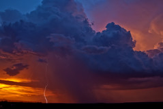 Ascension (Steven Maguire Photography) Tags: sunset arizona clouds tombstone monsoon thunderstorm lightning whetstone cochisecounty pwlandscape