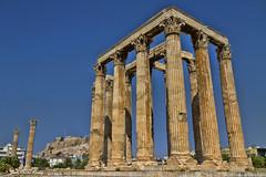 Templo de Zeus (Atenas) (Juanca Verdoy) Tags: monumento grecia zeus templo atemas