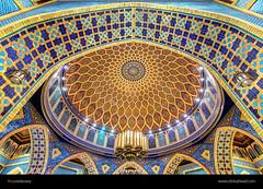 Persian Court - Ibn Battuta Mall, Dubai (Firoze Edassery) Tags: court mall shopping design persian dubai persia arches arabic dome hdr ibn battuta