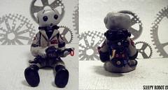Ghostbuster Robot (Sleepy Robot 13) Tags: cute robot diy handmade robots polymerclay fimo comicbook kawaii sculpey etsy urbanvinyl marvel sculpting smallbusiness sleepyrobot13 polymerclayurbanvinylsleepyrobot13etsysilvercraftcraftscraftingsculptingsculpturefigurinearthandmadecraftshowcutekawaiirobots