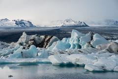 Jökulsárlón Glacial Lagoon, Southeast, Iceland. (Flash Parker) Tags: travel tourism ice iceland nikon europe september adventure nordic nikkor vikings jokulsarlon 2012 d800 icelandic flashparker iceland11883