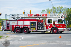 Sarnia Fire - L2, Churchill Rd. & Indian Rd. MVC, 09.25.2013 (Front Page Photography / Hooks & Halligans) Tags: rescue ontario canada truck wednesday fire crash accident over wed aerial september 25 sarnia vehicle roll hh service motor ladder wreck sept department rollover services mva dept collision lambton l2 quinte motorvehicleaccident fpp mvc ladder2 2013 firephotography motorvehiclecrash frontpagephotography hookshalligans hooksandhalligans hookshalligansfirephotography hooksandhalligansfirephotogrpahy motorvehilcecollision