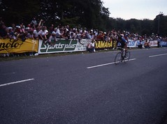 1982 World Cycling Champ027 (Tim Callaghan) Tags: cycling jones 1982 bikes flags kelly 35mmslides roads crowds goodwood lemond saroni worldroadracechampionships