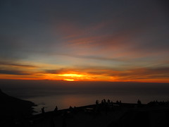 Sunset over Table Bay from Table Mountain (kitmasterbloke) Tags: sunset southafrica capetown tablemountain nightfall