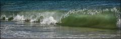 RHODE ISLAND WAVELENGTH, I (susies.genii) Tags: beach surf wave rhodeisland seashore atlanticocean breaker curlingwave september242013
