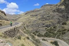 Climbing to Abra Chonta