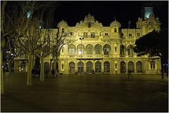 Barcelona 2013 - Port De Barcelona (kurtwolf303) Tags: barcelona nachtaufnahme portdebarcelona