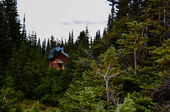 Cabin in the Woods (k.mckeown) Tags: lake canada cabin nikon jasper alberta valley ramparts amethyst 18200 tonquin d7000 vision:mountain=0712 vision:outdoor=0958 vision:plant=0749