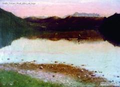 Giulio Cesare Prati Alba sul lago