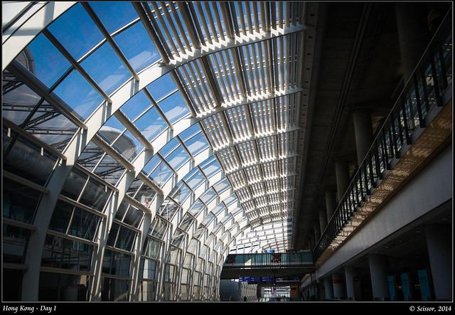 香港機場建築風格