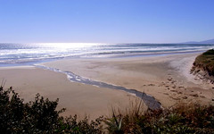 Ocean Beach - Strahan, Tasmania (Poytr) Tags: beach oceanbeach tasmania desertedbeach strahantasmania tasmanianbeaches