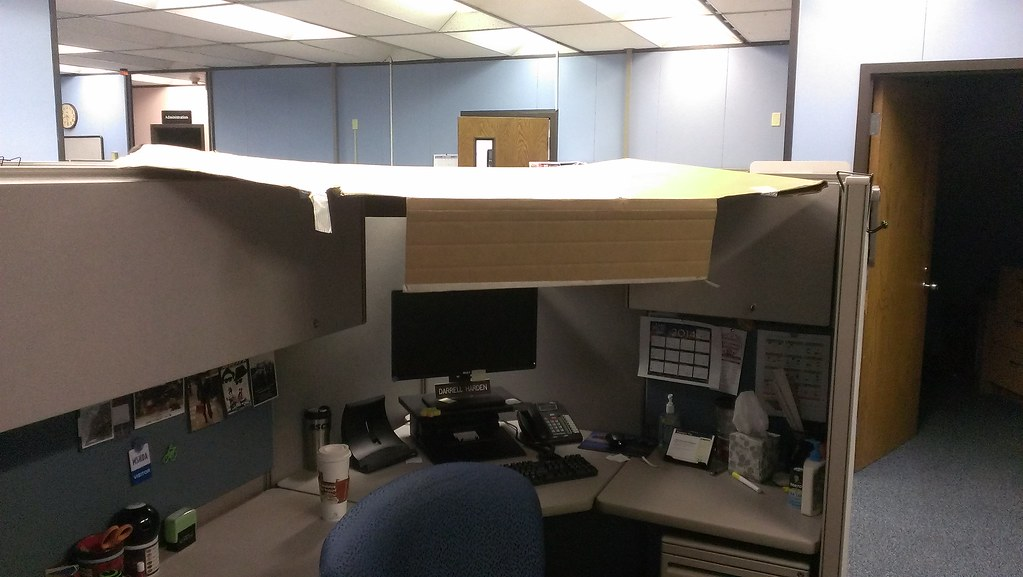 Office Cubicle Roof. Office Cubicle Roof U