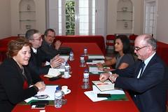 Reunião com a APDSI na Sede Nacional