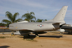 50-0560 N.American F-85H Sabre (eLaReF) Tags: ca field museum march air sabre kriv namerican 500560 f85h