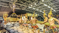 Samudra Manthan (gags9999) Tags: thailand bangkok suvarnabhumiairport samudramanthan
